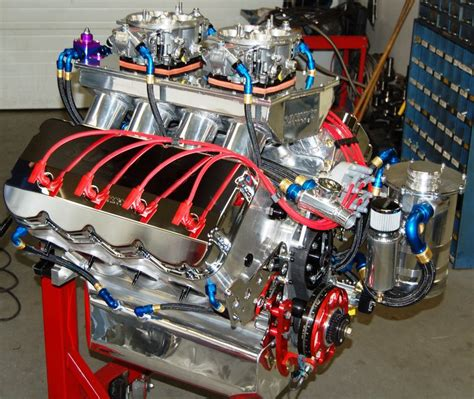 extreme pro stock  cu   hp racing engine