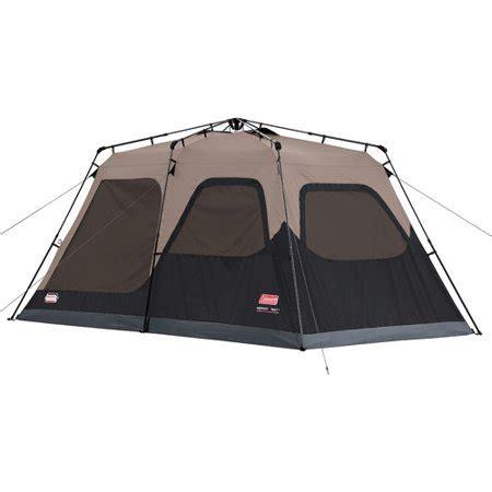 coleman 10 person instant cabin tent coleman 8 person instant cabin tent walmart