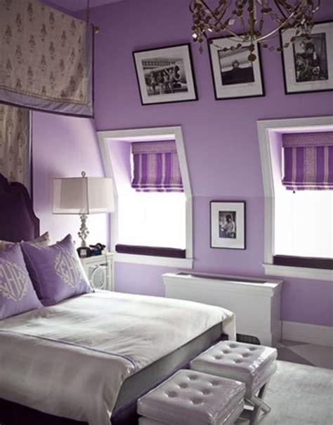 Schlafzimmer Mit Dachschräge by Lila Schlafzimmer Mit Dachschr 228 Ge Haus Und Garten Lila