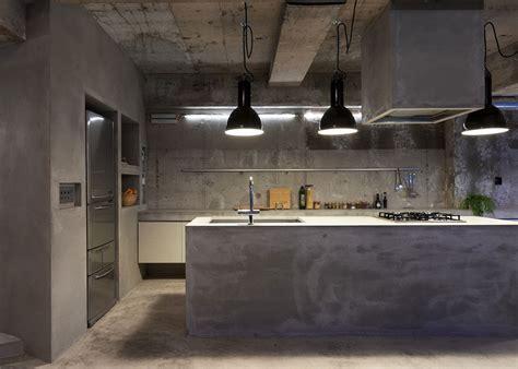 Le béton ciré dans la cuisine : où l'intégrer ?   Marie Claire