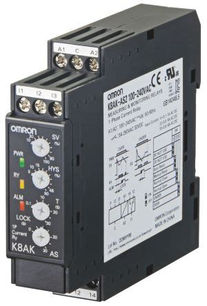 Kak Vac Omron Current Monitoring Relay With
