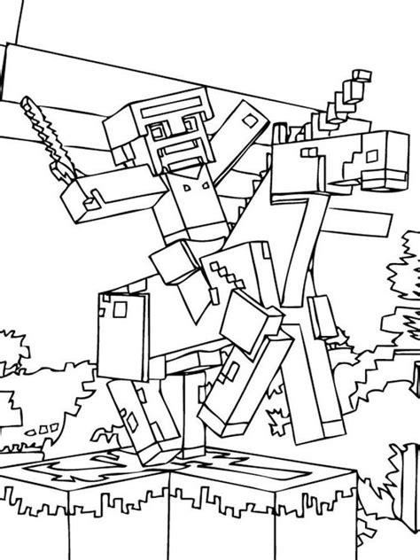 Credits für den spielinhalt gehen an mojang. 30 Beste Ausmalbilder Minecraft zum Ausdrucken   Minecraft ausmalbilder, Malvorlagen für mädchen ...