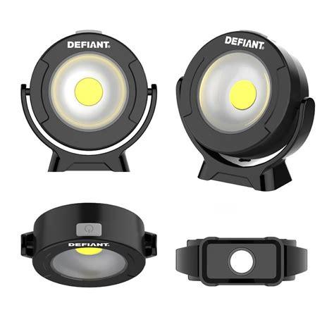 defiant lighting customer service defiant 360 degree pivoting led light 2 pack 16fl0706