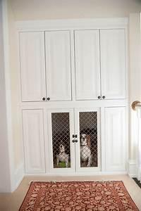custom built in dog kennel pets pinterest dog With built dog kennels