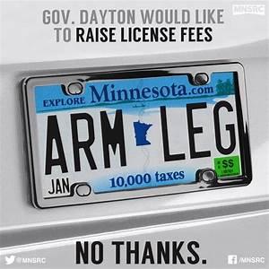 Gov. Dayton's license tab fee increase = $735 per car
