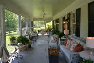Beautiful Southern Porch Enclosed Porch Decorating Ideas Charming