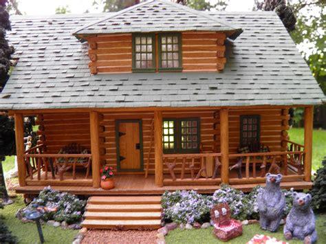mini log cabins theweetinker log cabin in miniature