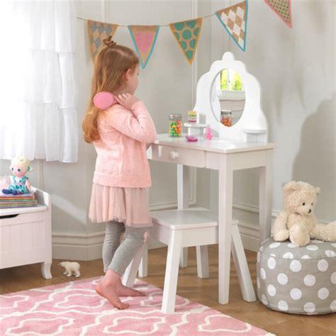 kidkraft deluxe vanity table with chair kidkraft vanity table kidkraft 13023 pink medium vanity
