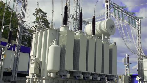 industrial high voltage substation power transformer stock