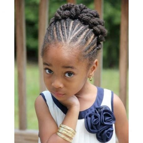 coiffure afro nattes collees