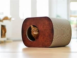 Cabane Pour Chat Exterieur Pas Cher : griffoir niche en carton pour chat brochhaus jnr ~ Teatrodelosmanantiales.com Idées de Décoration