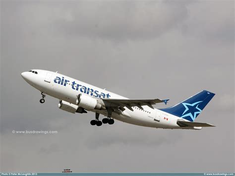 www busdrawings air transat airbus a310 300