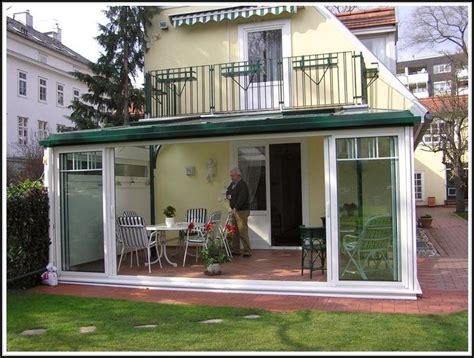 Wintergarten Nachträglich Anbauen by Wintergarten Unter Balkon Anbauen Balkon House Und