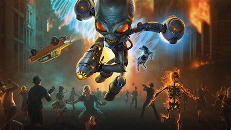 Destroy All Humans! Review – Invading from the Past ...