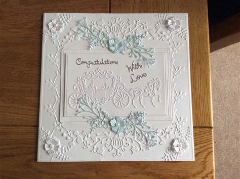 Wedding Card Using Tattered Lace Dies Handmade Cards By