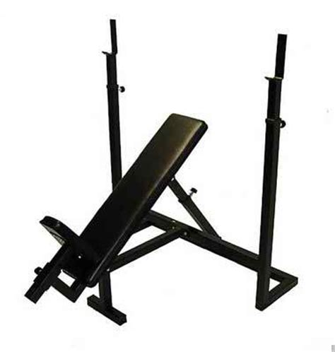 Adjustable Olympic Incline Bench Press  Ader Fitness