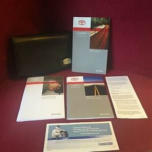 2015 Toyota Camry Oem Owners Manual Set With Warranty