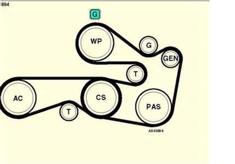 Solved Need Diagram Replace Alternator Belt