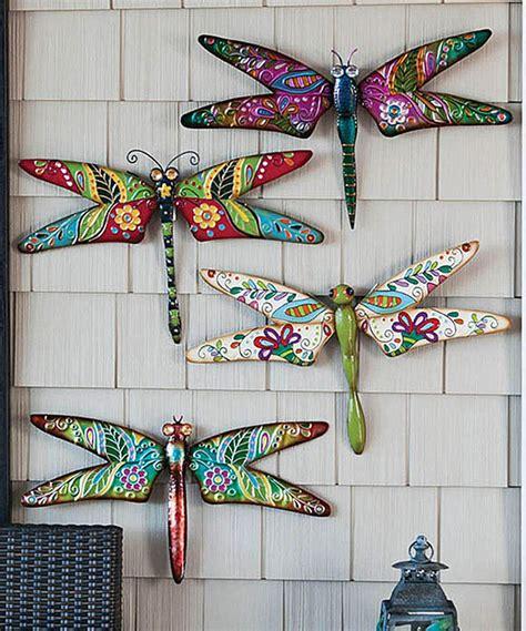 cape craftsmen boho dragonfly wall art set home flair