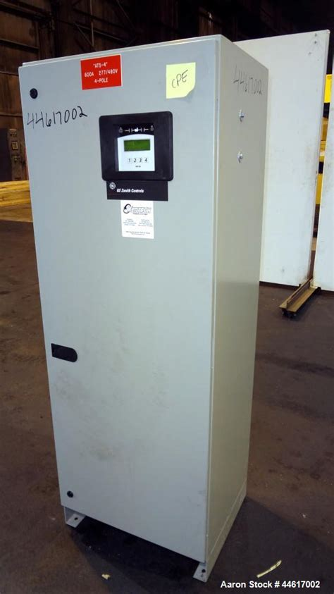 ge zenith  amp automatic transfer switch
