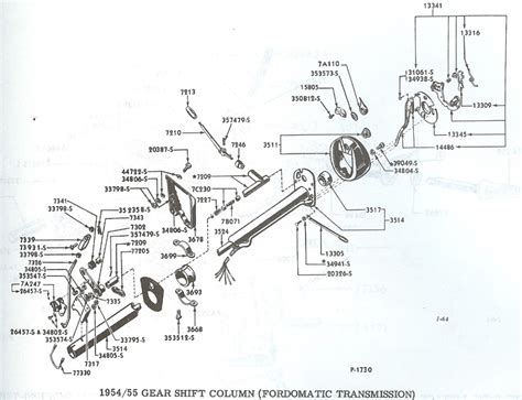 1994 Ford Ranger Steering Column Diagram by Ford Ranger Steering Column Diagram