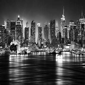 New York City Black And White At Night (45 Wallpapers ...