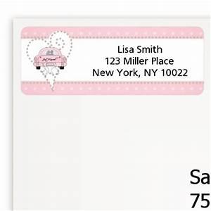 just married bridal shower return address labels bridal With bridal shower address labels