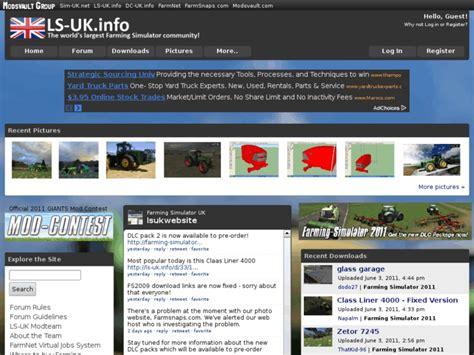 Ls Uk by Fs Uk Info Ls Uk Home Farming Simulator Uk Forum