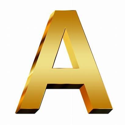 Letters Abc Education Gold Golden Alphabet Pixabay