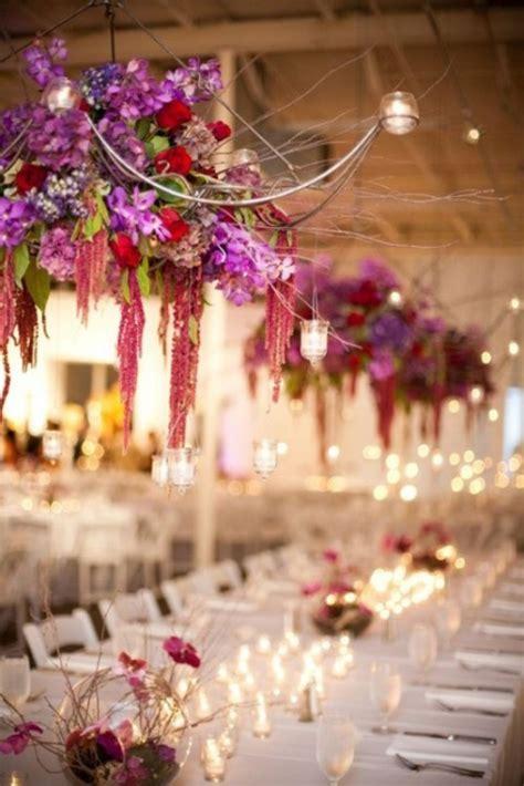 gorgeous hanging flowers decor ideas overhead