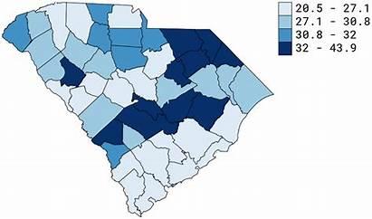 Poverty County Carolina South Level Report Sc