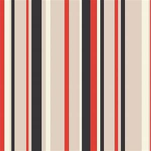 Black And Red Striped Wallpaper