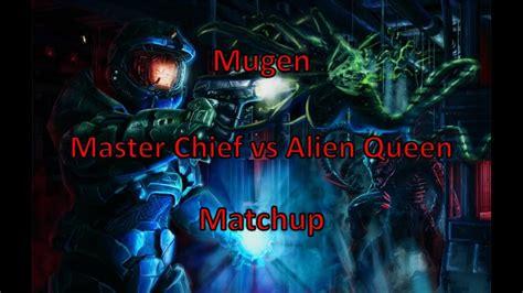 Master Chief Vs Alien Queen Youtube