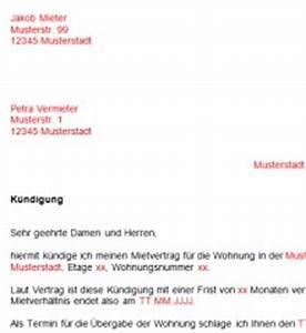 Kündigungsfrist Berechnen Wohnung : k ndigung wohnung vorlage download chip ~ Themetempest.com Abrechnung
