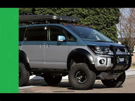 Mitsubishi Delica Backgrounds by Mitsubishi Delica D5 Offroad Compilation