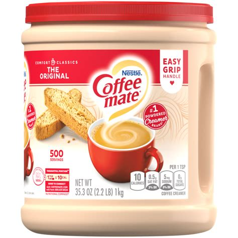 Find the flavor that fits your day with our rich and smooth non dairy coffee mate® creamers! Original Coffee Creamer   Liquid   Coffee mate®
