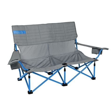 Kelty Loveseat Cing Chair by Kelty Low Loveseat Mesh Two Seat Folding Chair