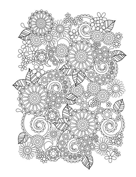Coloring Books For Adults by Flower Coloring Pages For Adults Best Coloring Pages For