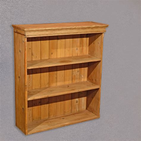 Antique Pine Bookcases by Antique Pine Bookcase C 1900 A1232
