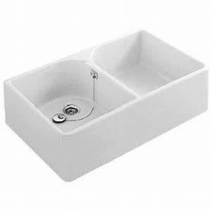 best evier de cuisine evier poser cramique blanc targa With salle de bain design avec evier ceramique 1 bac