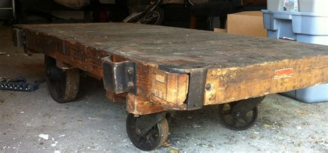 Carver Junk Company The Coffee Table That Started It All