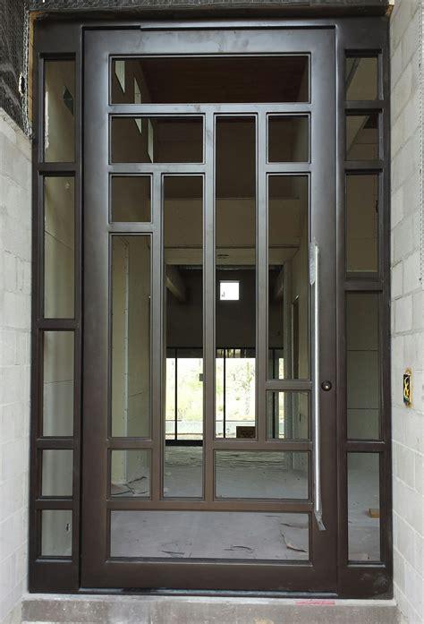 modern entry doors double front doors custom design