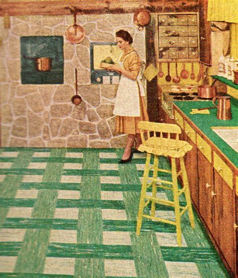 vintage floor tiles for 1950s linoleum flooring flooring ideas and inspiration 8832