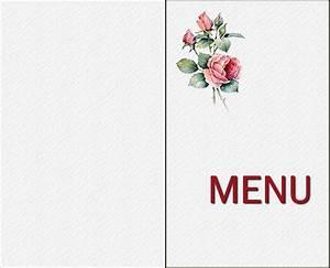 Modele De Menu A Imprimer Gratuit : deco tables de fetes page 2 ~ Melissatoandfro.com Idées de Décoration