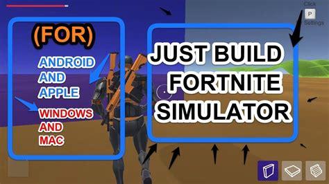 build simulatorfortnite build