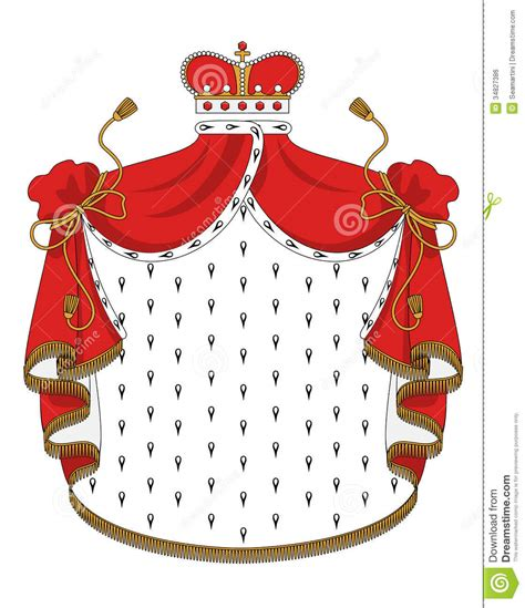 Rayo L Mantle by Heraldic Royal Mantle Royalty Free Stock Image Image
