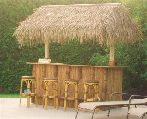 Tiki Hut Hours - take outdoor entertaining to new heights by building a