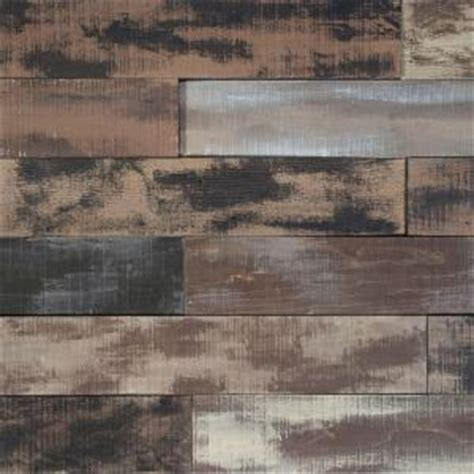 nuvelle flooring home depot nuvelle deco planks weathered brown 1 2 in thick x 4 in