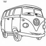 Coloring Bus Cars Vw Colouring Jackson Storm Volkswagen Disney Fillmore Getdrawings Mater Kleurplaat T1 Getcoloringpages Coloriage Personal Kleurplaten Tow Dessin sketch template