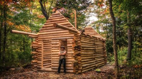 Log Cabin Build You Can Do This Too Youtube